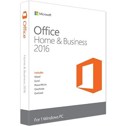 Microsoft Office Home and Business 2016 32/64-bit Product Key for Windows